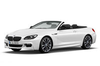 2014 BMW 6-Series Convertible Frozen White Edition