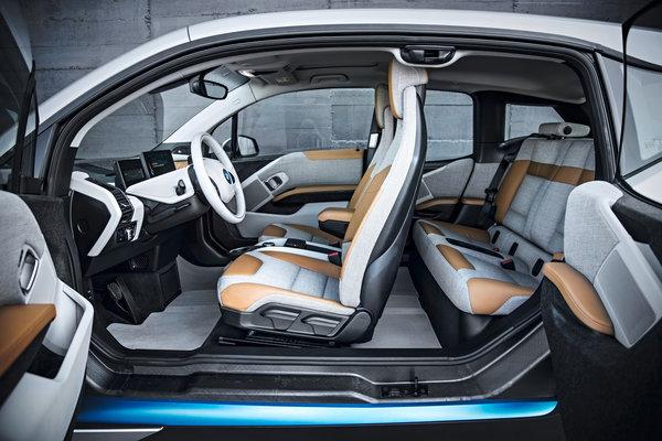 2014 BMW i3 Interior