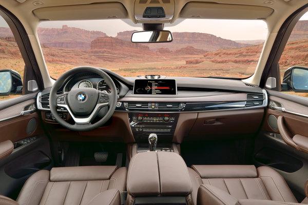 2014 BMW X5 xDrive35d  Interior