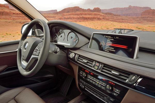 2014 BMW X5 xDrive35d  Instrumentation