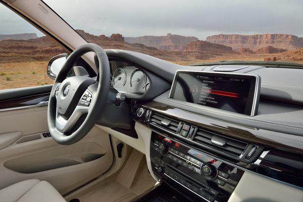 2014 BMW X5 xDrive50i Instrumentation