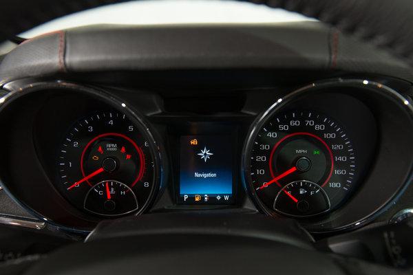 2014 Chevrolet SS Instrumentation