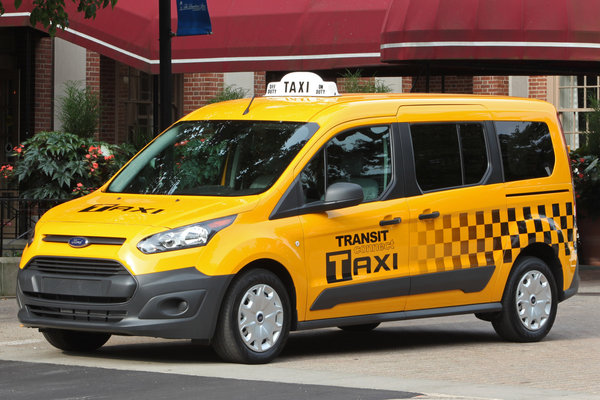 2014 Ford Transit Connect Taxi