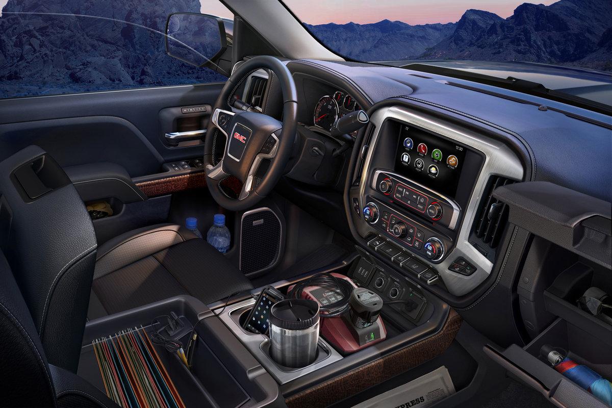 2014 Gmc Sierra 1500 Crew Cab Pictures Regular Interior