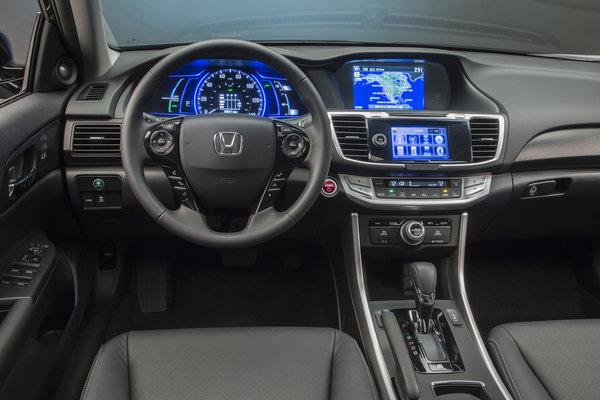 2014 Honda Accord Hybrid Instrumentation