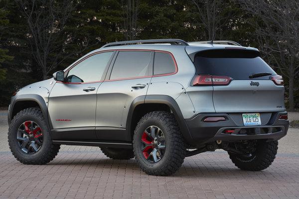 2014 Jeep Cherokee Dakar