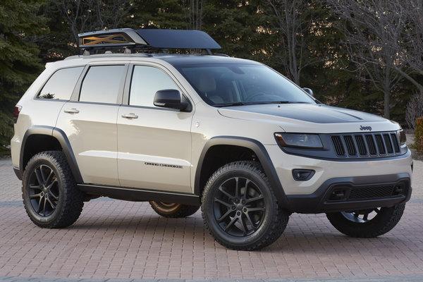 2014 Jeep Grand Cherokee EcoDiesel Trail Warrior