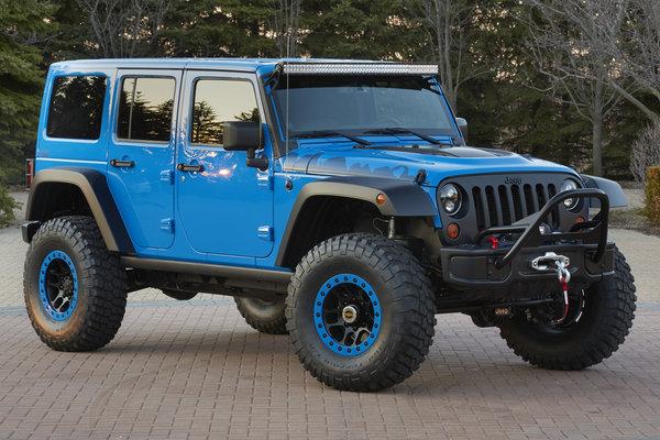 2014 Jeep Wrangler Maximum Performance