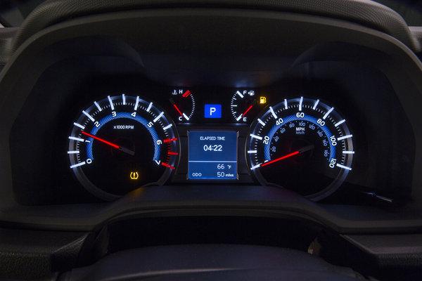 2014 Toyota 4Runner Instrumentation