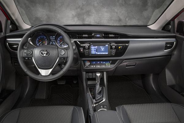 2014 Toyota Corolla S Instrumentation