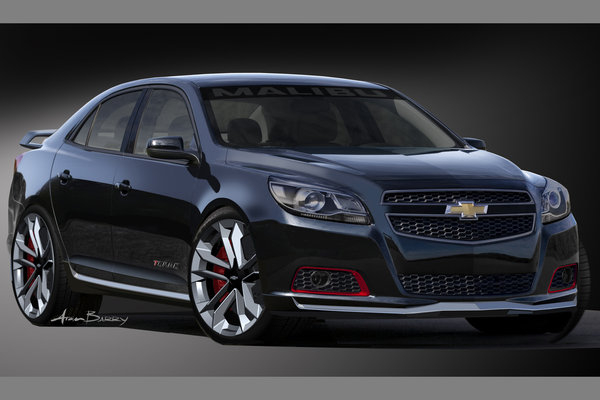 2012 Chevrolet Malibu Turbo Performance Concept