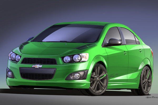 2012 Chevrolet Sonic Z-Spec 1
