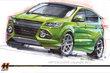 2012 Ford Escape by Heide Performance Products