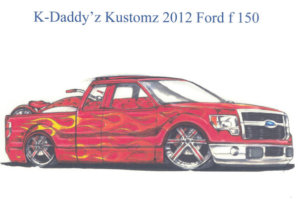 2012 Ford F-150 FX2 by K-Daddyz Kustomz
