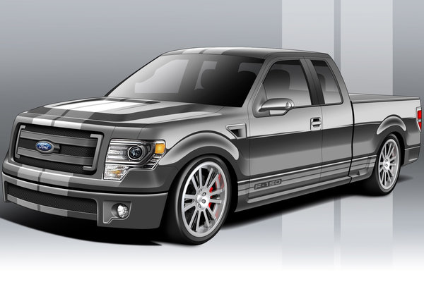 2012 Ford F-150 FX2 by Truckin Magazine