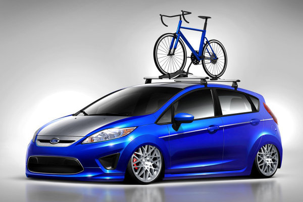 2012 Ford Fiesta by B-Spec Magazine