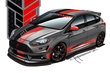 2012 Ford Focus ST by Tanner Foust Racing