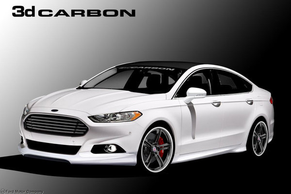 2012 Ford Fusion by 3dCarbon - Air Design