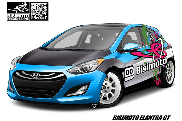 2012 Hyundai Elantra GT by Bisimoto Engineering