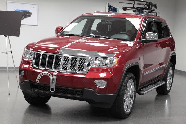 2012 Jeep Grand Cherokee Half & Half