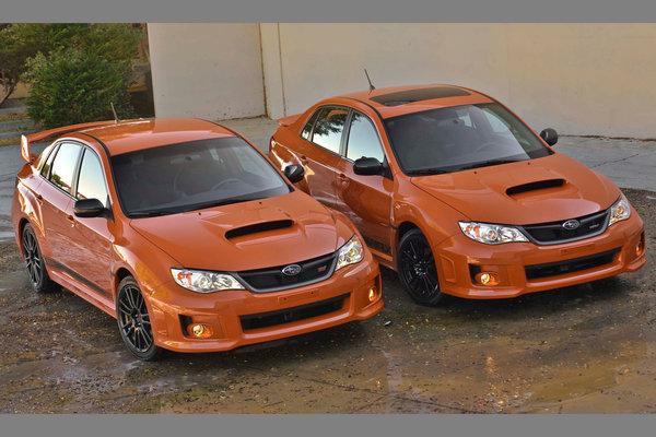 2013 Subaru Impreza WRX Sedan Special Edition