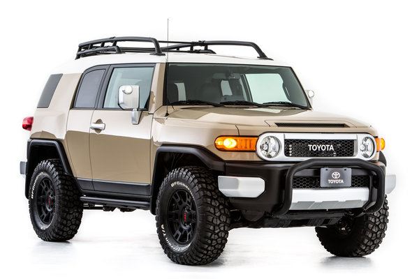 2012 Toyota FJ Cruiser by TRD