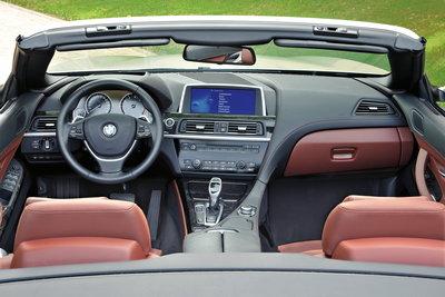 2012 BMW 6-series Convertible Interior