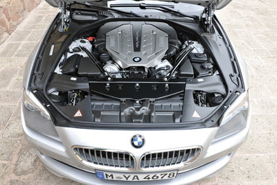 2012 BMW 6-series Convertible Engine