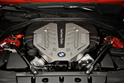 2012 BMW 6-series Coupe Engine