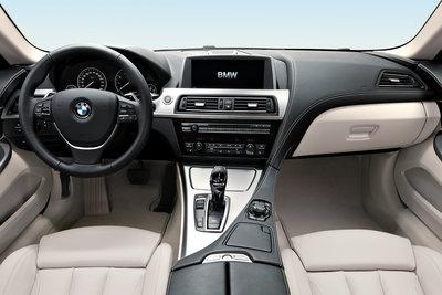 2012 BMW 6-series Coupe Instrumentation