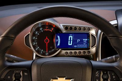 2012 Chevrolet Sonic Instrumentation