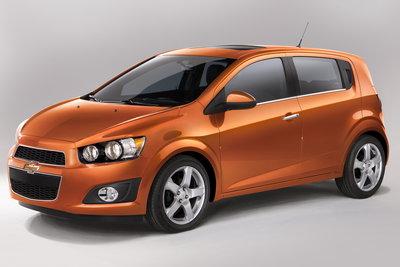 2012 Chevrolet Sonic 5d