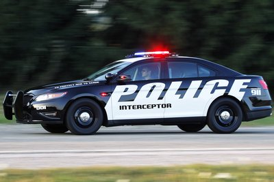 2012 Ford Police Interceptor Sedan