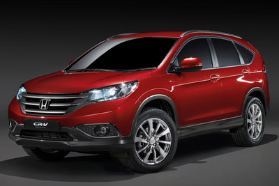 2012 Honda European CR-V Prototype
