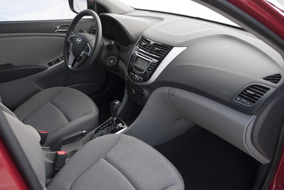 2012 Hyundai Accent Interior