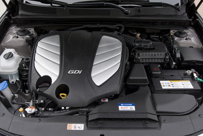 2012 Hyundai Azera Engine