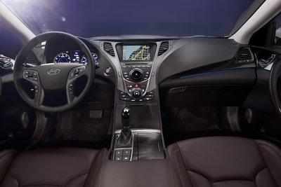 2012 Hyundai Azera Instrumentation