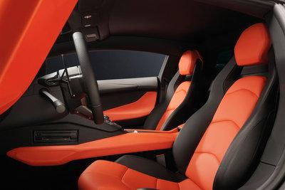 2012 Lamborghini Aventador Interior