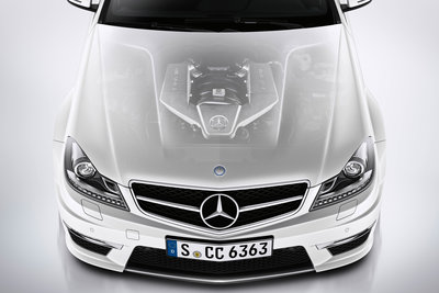 2012 Mercedes-Benz C-Class coupe C63 AMG Engine