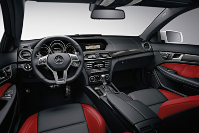 2012 Mercedes-Benz C-Class coupe C63 AMG Interior
