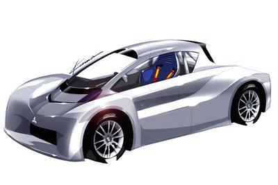 2012 Mitsubishi i-MiEV Prototype