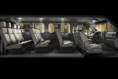 2012 Nissan NV3500 HD Passenger Van Interior