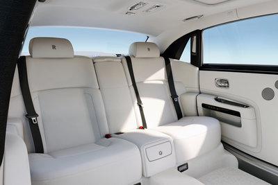 2012 Rolls-Royce Ghost extended wheelbase Interior