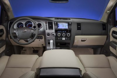 2012 Toyota Sequoia Instrumentation