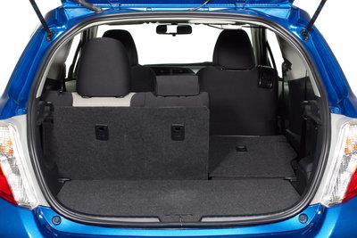 2012 Toyota Yaris 3d Liftback