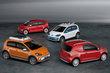 2012 Volkswagen x up!, Swiss up!, winter up!, cargo up! (clockwise from left)