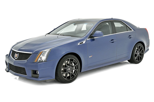 2013 Cadillac CTS-V Sedan Stealth Blue Edition