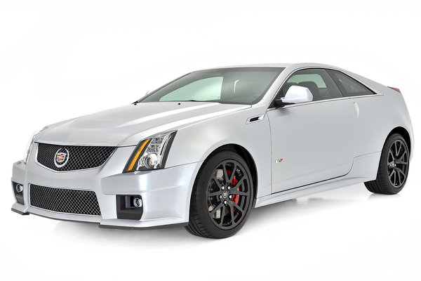 2013 Cadillac CTS-V Coupe Silver Frost Edition