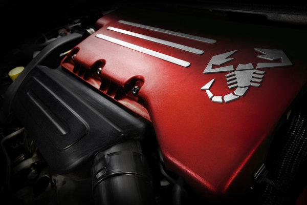2013 Fiat 500 Abarth Engine