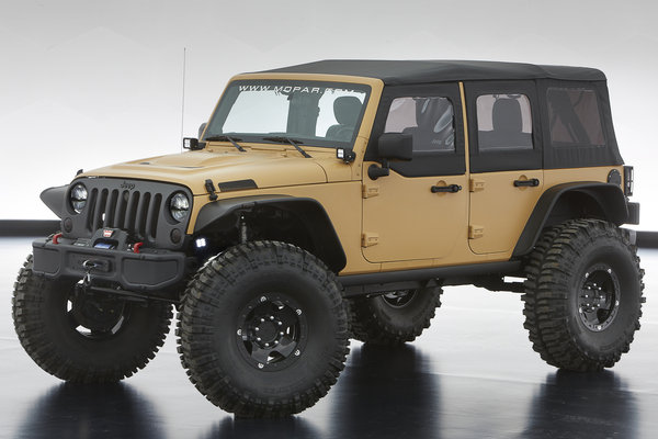 2013 Jeep Wrangler Sand Trooper II